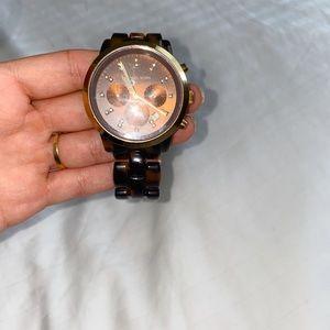 Michael Kors turtleshell watch